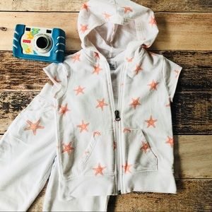 Girls Jogging Suit Outfit